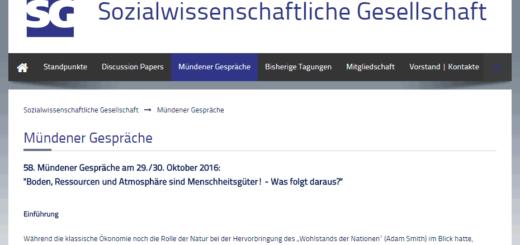Mündener Gespräche online
