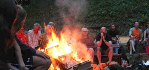 Lagerfeuer beim 3. Sommercamp 2016