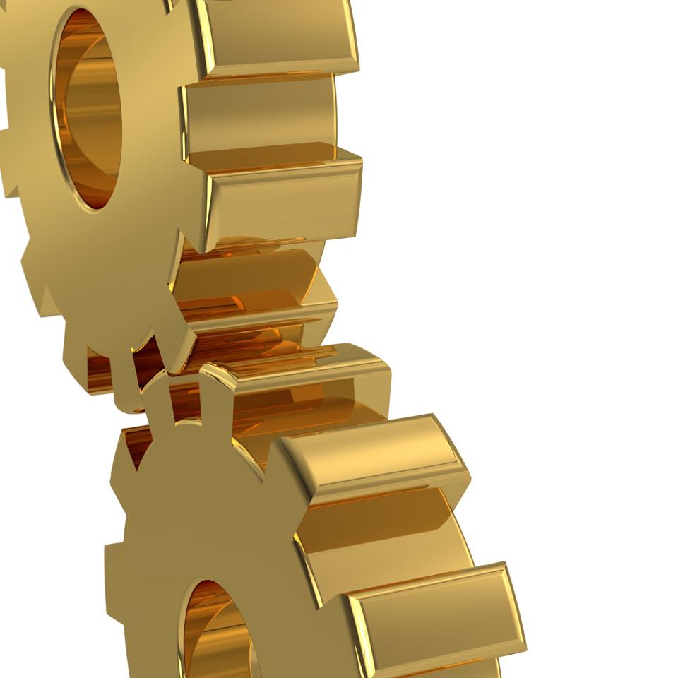 Goldene Zahnräder, © Martin Bangemann, Kontakt: bestmoose.biz