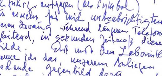 leserbrief handschrift